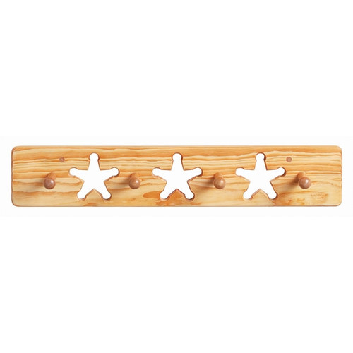Little Colorado Star Peg Coat Rack