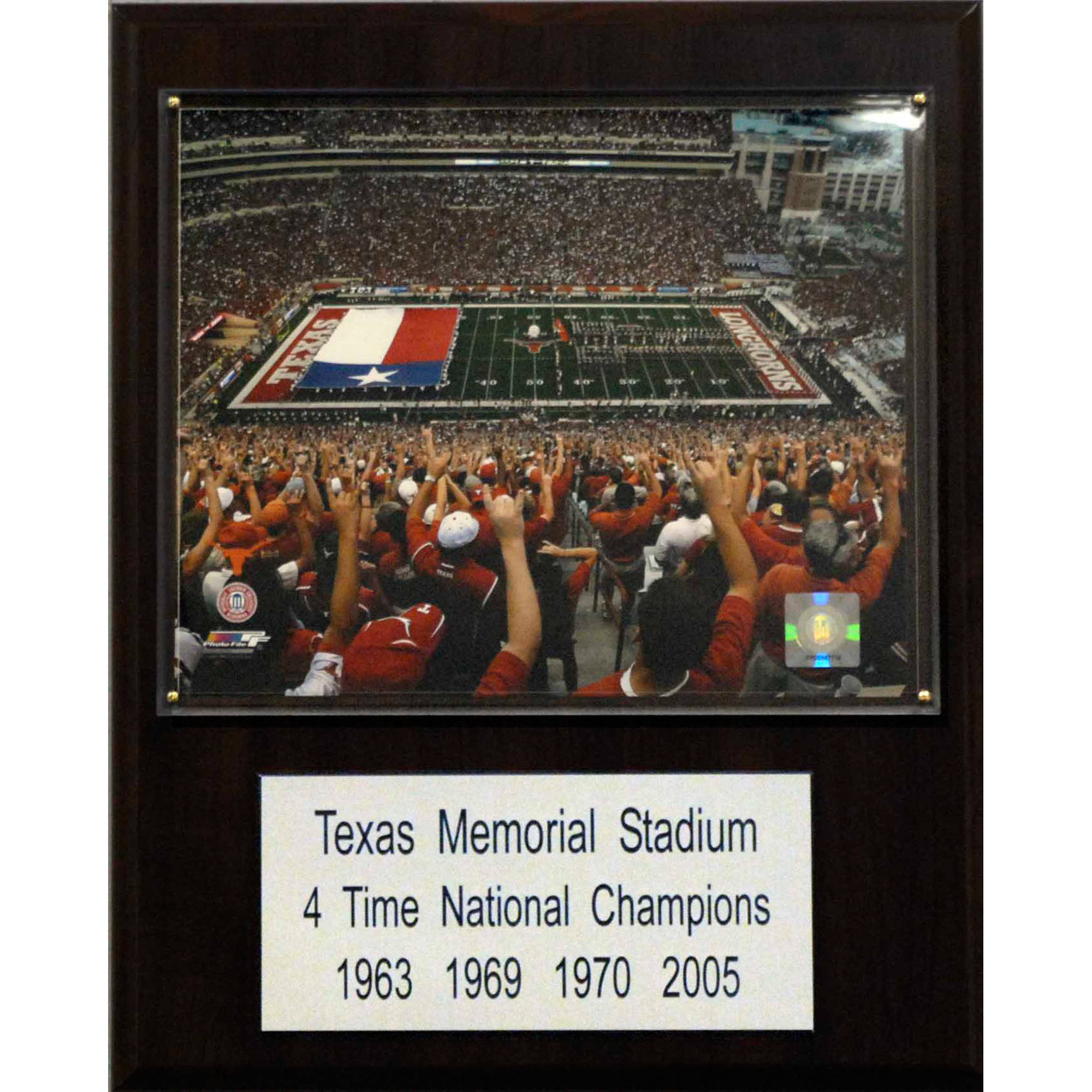 C&I Collectables NCAA Football 12x15 Texas Memorial Stadium Plaque