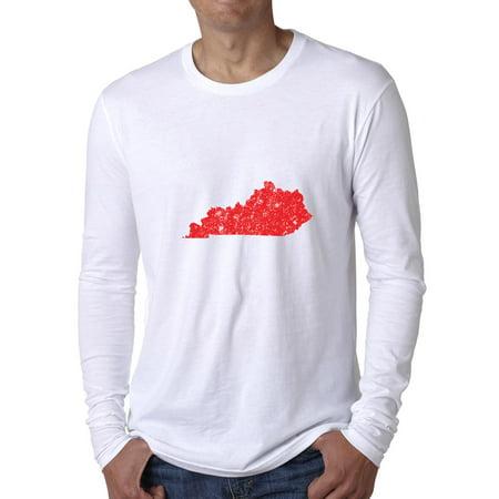 Kentucky Red Republican - Election Silhouette Men's Long Sleeve T-Shirt ()