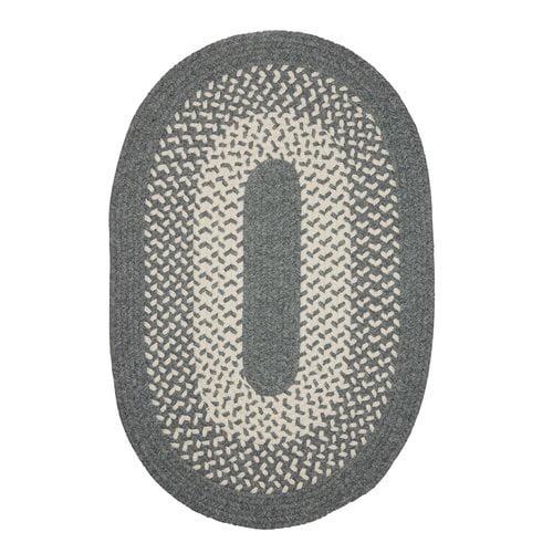 Winston Porter Melody Hand-Woven Gray Area Rug