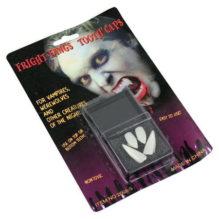 Goth Scary Vampire Halloween Teeth Horror Fang Party Supplies Favor (Time To Party Halloween)