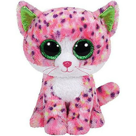 TY Beanie Boos -Sophie the Pink Cat (Glitter Eyes) Small 6