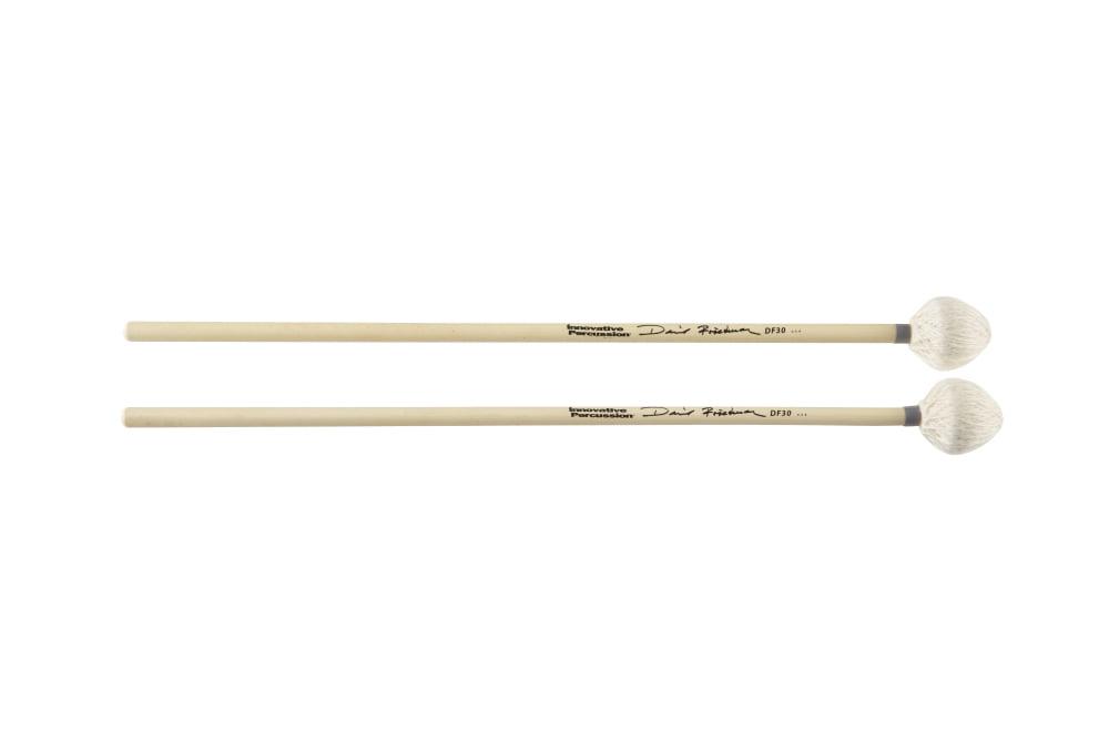 Innovative Percussion David Friedman Vibraphone   Marimba Mallets Gray Tape Rattan Handles by Innovative Percussion