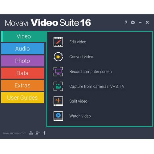 Golden Software MVS16BE-ESD Movavi Video Suite 16 Business ESD (Digital Code)