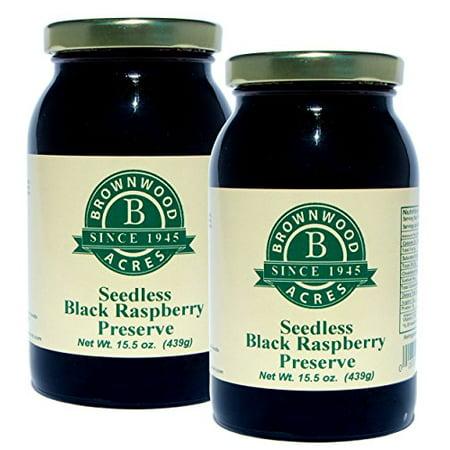 Seedless Black Raspberry Preserve - 2 PACK