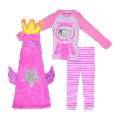Girls Sleeping Bag Sets (Freestyle Revolution Girl's 3 Piece Pajama Sleep Set with Sleeping Bag (Little Girl & Big)