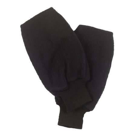 Turtle Fur Fur Gloves (Turtle Fur Original Turtle Fur Fleece Golf Mitt, Heavyweight Fleece Pull Up Mitten, Black )
