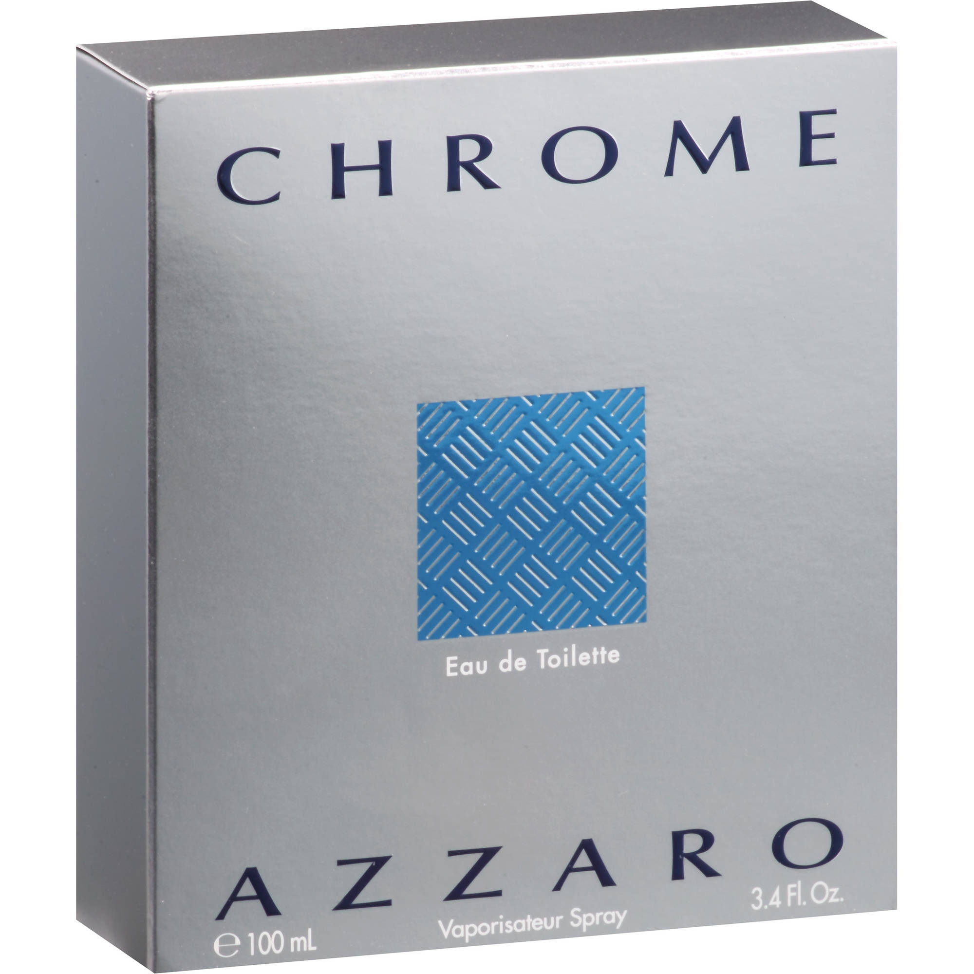 Azzaro Chrome Eau de Toilette 3.4 oz Spray Men