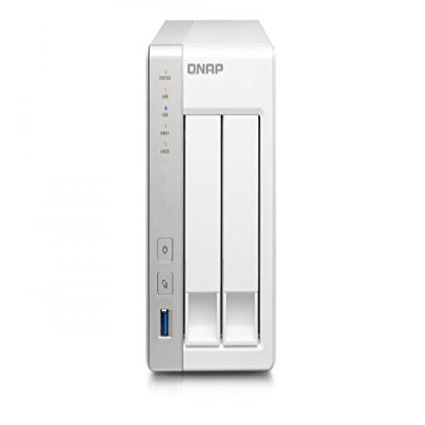 QNAP 2-Bay Personal Cloud NAS with DLNA, Mobile Apps and ...