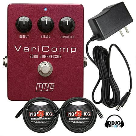 BBE VariComp VC-3080 OTA Compressor With 2 10' Cables, 9V Power Supply