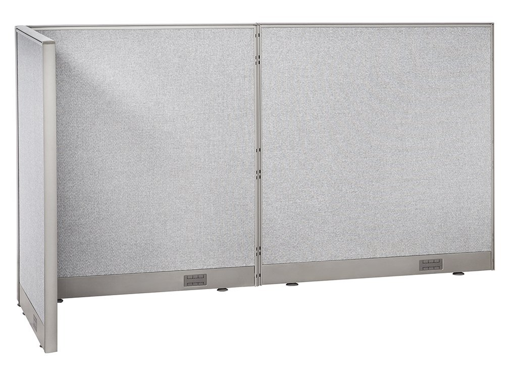 Charmant GOF L Shaped Freestanding Office Panel Cubicle Wall Divider Partition 30D X  96W X 48H