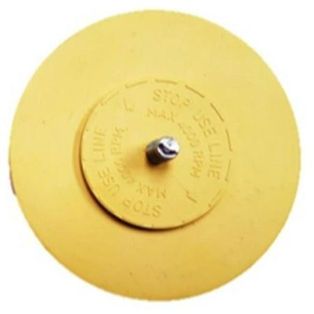 246EP 4 in. Vanilla Scented Eraser Pad - Scented Erasers