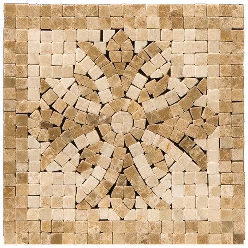 Emser Tile Natural Stone 4'' x 4'' Honed Marble Teatro Listello Corner