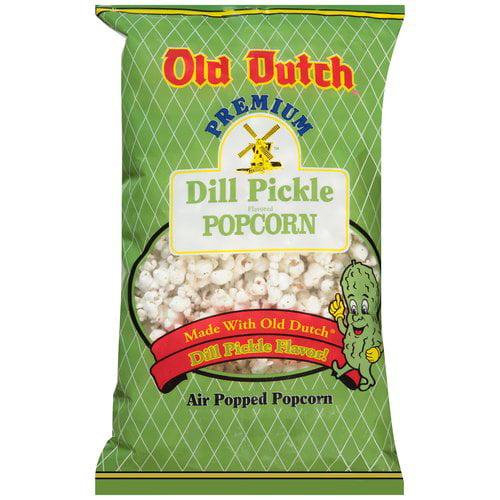 Old Dutch Premium Dill Pickle Flavored Popcorn, 6 oz