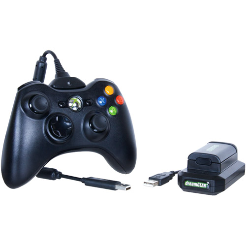 dreamGEAR Xbox 360 Rechargeable Battery Power Kit (Xbox 360)