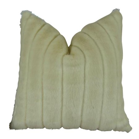 """Plutus Fancy Mink Handmade Throw Pillow, (Double sided 26"""" x 26"""") - image 1 of 1"""