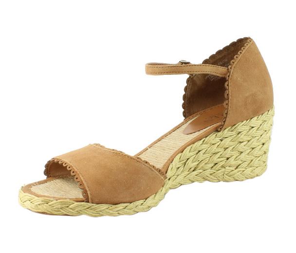 Lauren by Ralph Lauren Womens  Brown Open Toe Heels Size 8.5 New