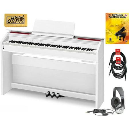 casio privia px 860 standardb 88 key digital piano standard bundle white px860we standardb. Black Bedroom Furniture Sets. Home Design Ideas