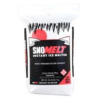 snomelt s0502r 50 lbs calcium chloride pellet bag