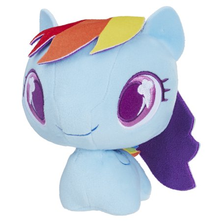 My Little Pony Rainbow Dash Cutie Mark Bobble Plush (Dash Baby Product)