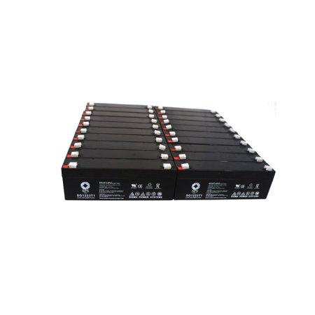 SPS Brand 12V 2.3 Ah Replacement Battery  for Novametrix 800 PULSE OXIMETER (20