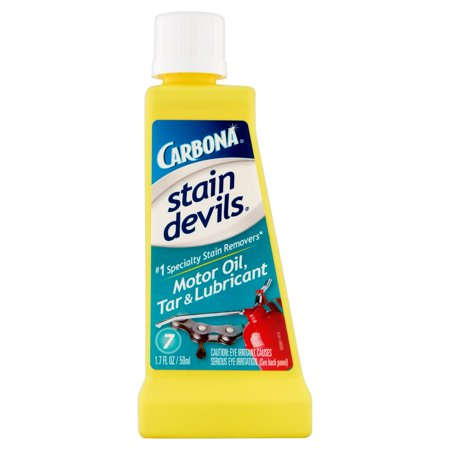 carbona stain devils 7 motor oil tar lubricant spot On motor oil stain removal
