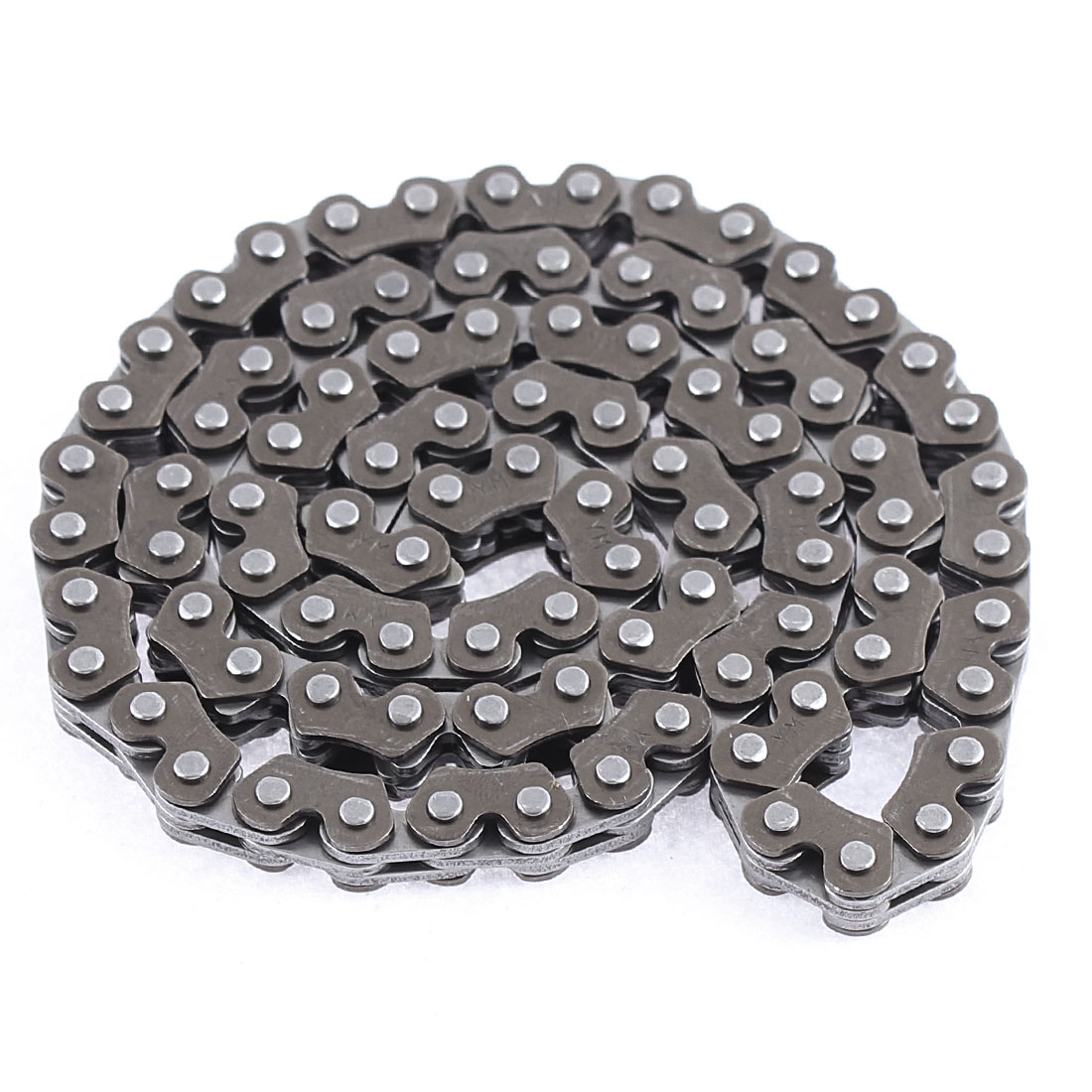 Unique BargainsMotorcycle Engine 59cm Girth 90 Link M Style Camshaft Timing Chain Dark Gray