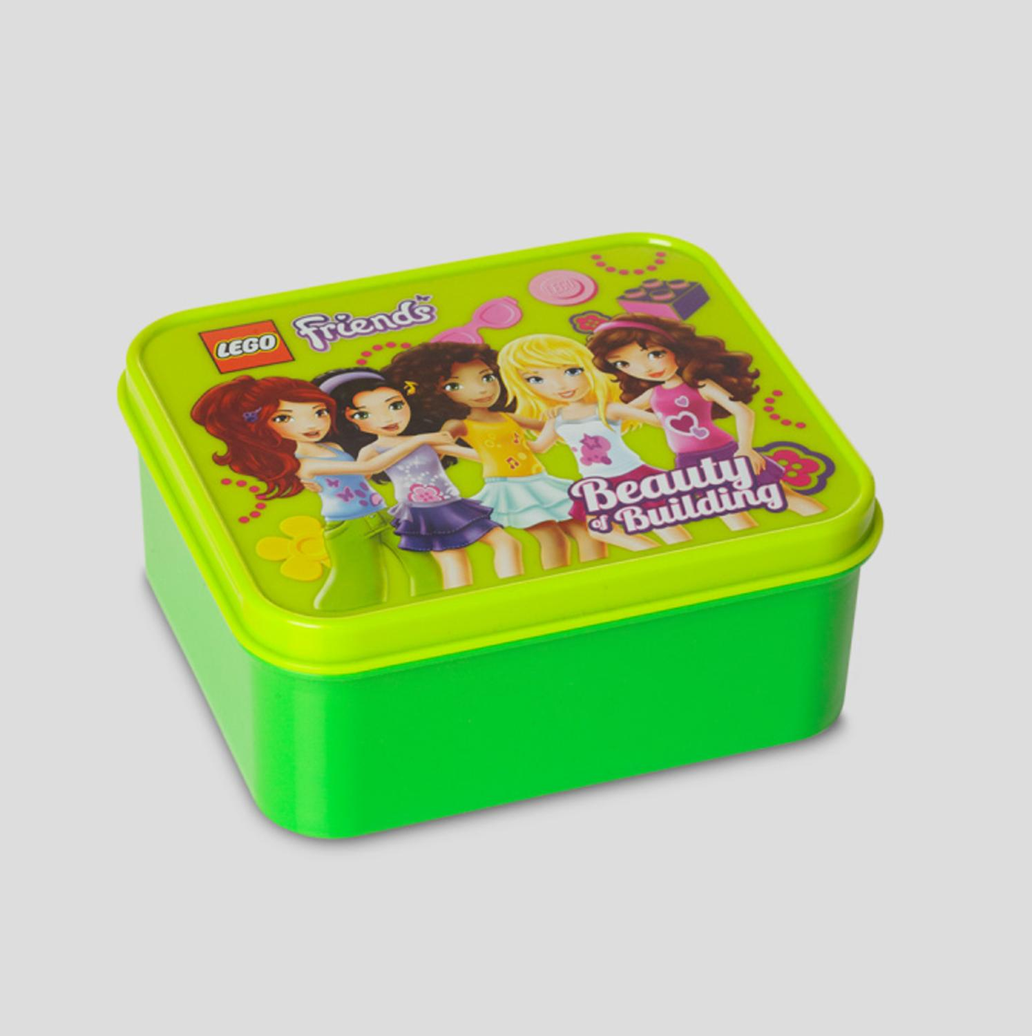 LEGO Friends Children's Bright Yellow Lime Green Lunch Box