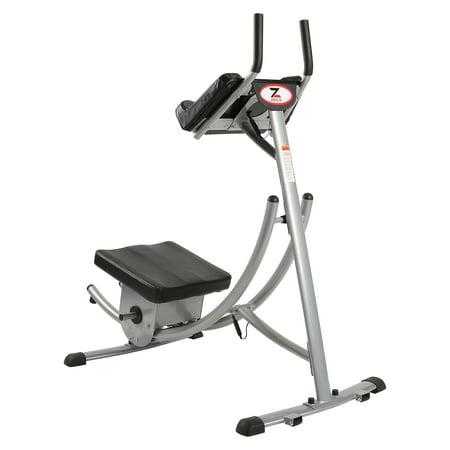 Ab Trainer Abdomen Abdominal Machine Fitness Equipment with Bottom-up Design for Home Gym