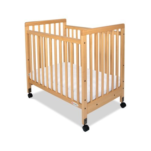 foundations safetycraft slatted compact crib walmart