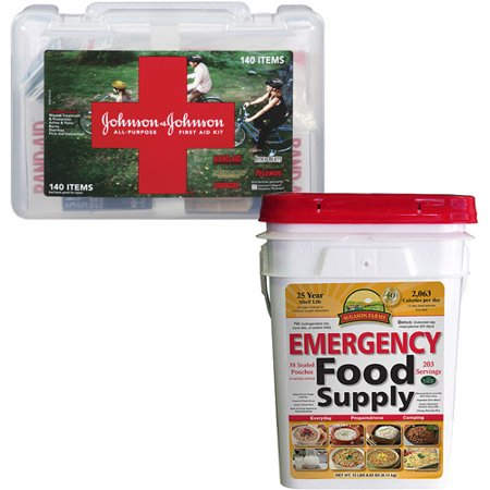Emergency Preparedness Food 12 day supply with bonus First Aid Kit Value