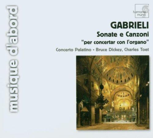 G. Gabrieli - Gabrieli: Sonate E Canzoni [CD]