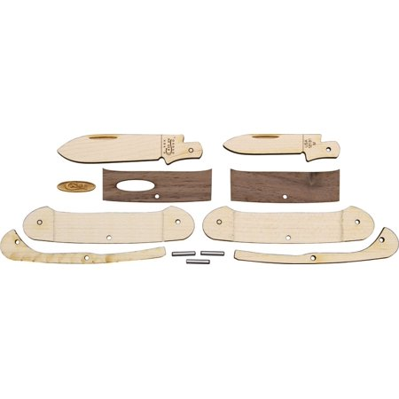Case Knife Kit Walnut Canoe Multi-Colored