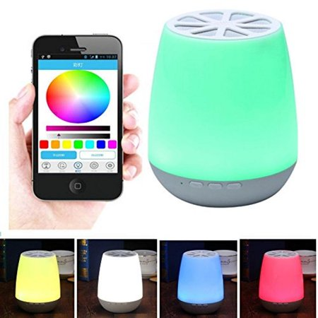 Portable Audio & Headphones Speaker Smart Potted Bluetooth Wireless Games Del Light Evening Potted Excellent In Cushion Effect