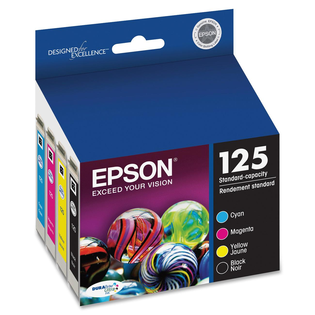 Epson 125 DURABrite Original Ink Cartridge