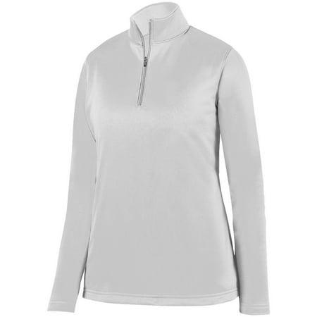 Augusta Ladies Wicking Fleece Pullover White M - image 1 de 1