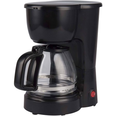 Mainstays 5 Cup Coffee Maker Black