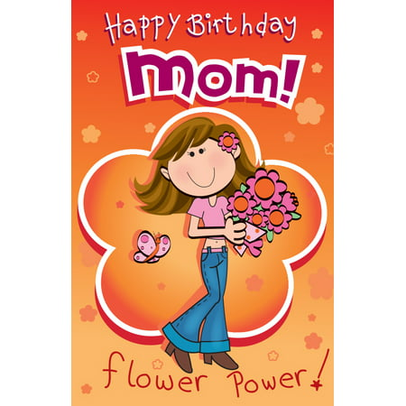 Singing Card- Happy Birthday Mom - Singing Happy Birthday