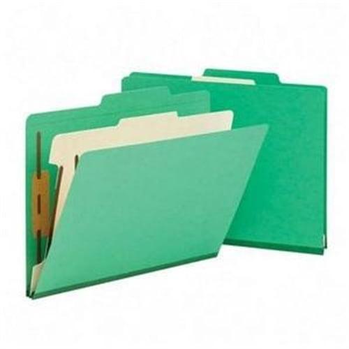 Smead Green Classification File Folders 13702