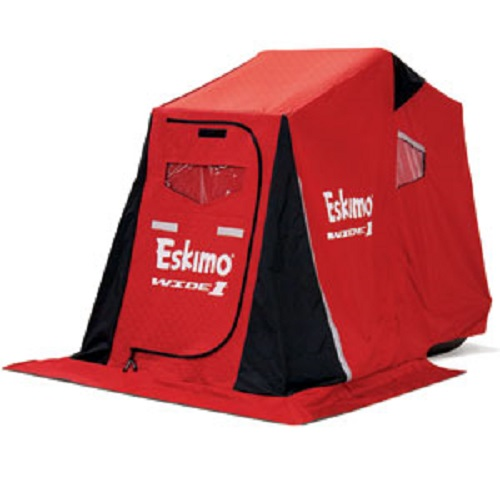 Eskimo 15350 Wide 1 Inferno Insulated Portable Ice Shelter with 50  Sled and Swivel Seat  sc 1 st  Walmart : eskimo ice tent - memphite.com