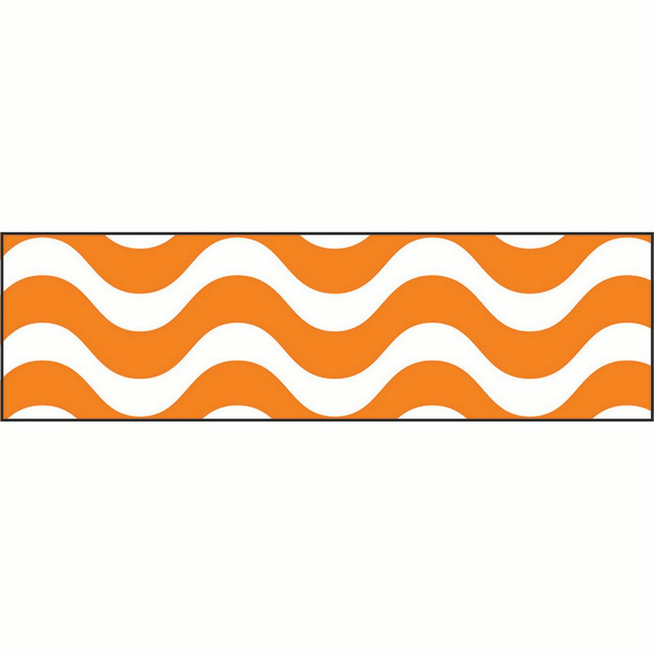 WAVY ORANGE BOLDER BORDERS