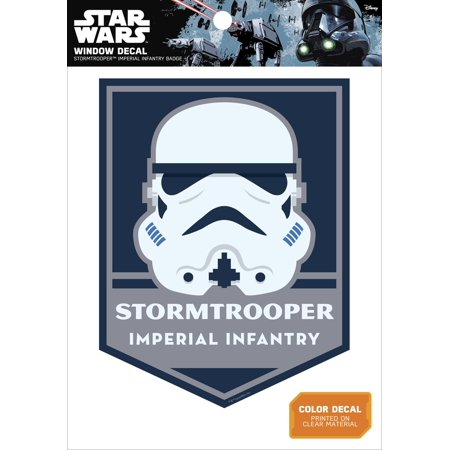 Star Wars Stormtrooper Imperial Infantry Badge Window Decal](Imperial Stormtrooper)