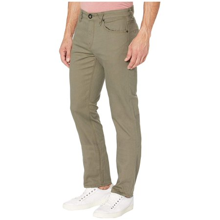 Volcom Solver Five-Pocket Slub Jean Army Volcom Black Jeans