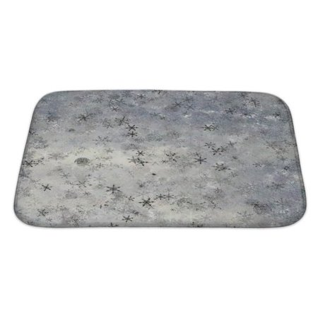 - Gear New Alpha Theme Abstract or a Large Element of Tile About Upper Drifting Snow Fancy Bath Rug