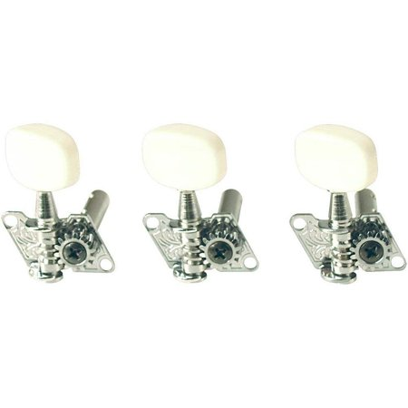 - Golden Gate F-2000 Acoustic Guitar Tuners - 6 Individual 3+3 - Chrome