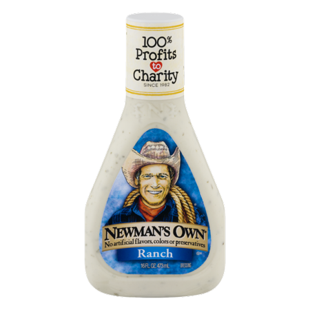 (2 Pack) Newman's Own Ranch Dressing, 16