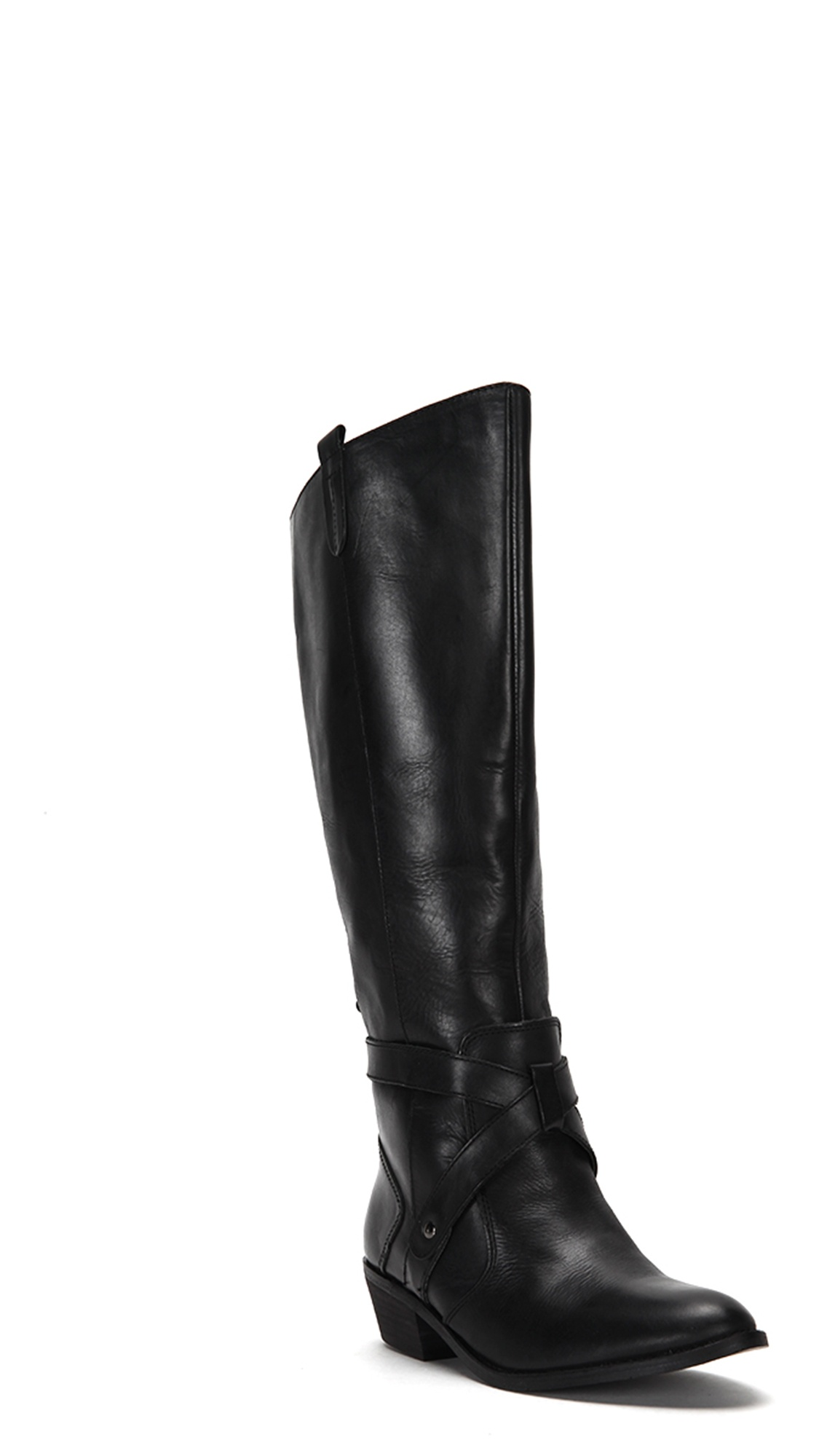 Dolve Vita Women's Clinton Riding Boots CLINTON Black