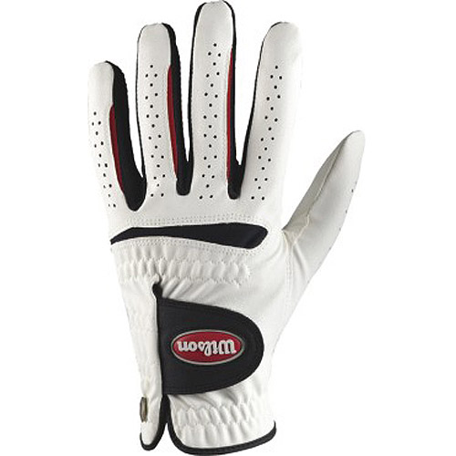 Wilson Feel Plus Men's Golf Glove, Large