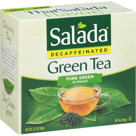 Salada Sacs de thé vert décaféiné - 40 CT
