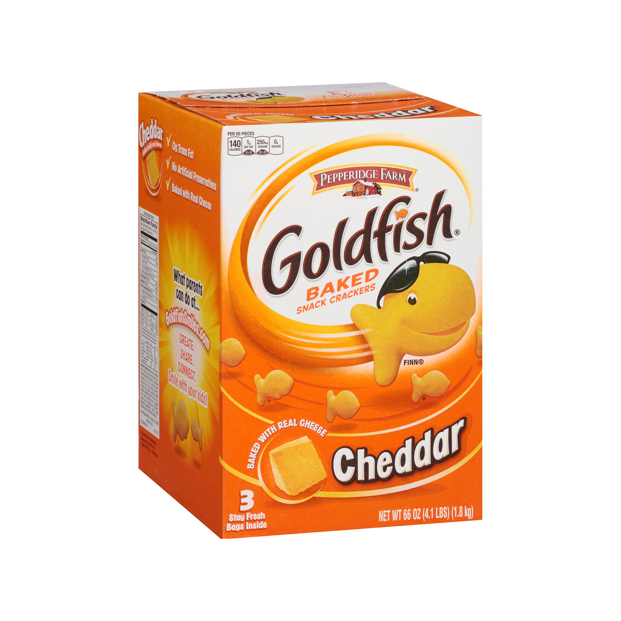 Branded Pepperidge Farm Goldfish Crackers (22 oz., 3 ct.) Pack of 1 [Qty Discount / wholesale price]